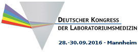 Deutscher Kongress der Laboratoriumsmedizin 2016